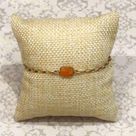 Bracelet argent 925 et cornaline