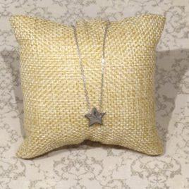 Collier argent 925 pendentif étoile