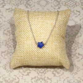 Collier argent 925 et lapis-lazuli