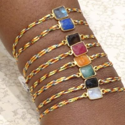 Bracelets pierres semi précieuses