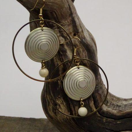 Boucles d'oreilles spirales 7