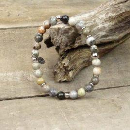 Bracelet homme agate d'Afrique