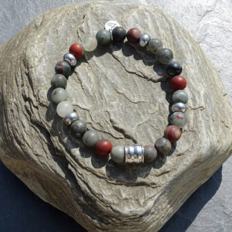 Bracelet jaspe army (3)