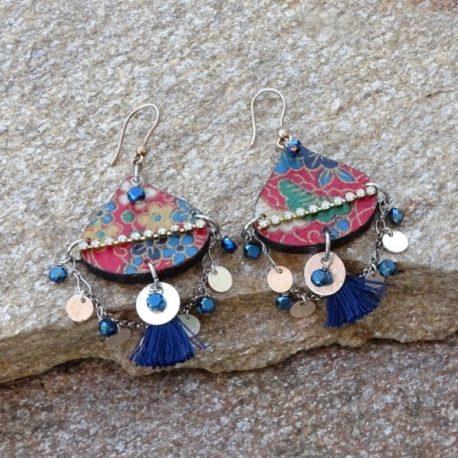 Boucles d'oreilles Gypsy argent (3)